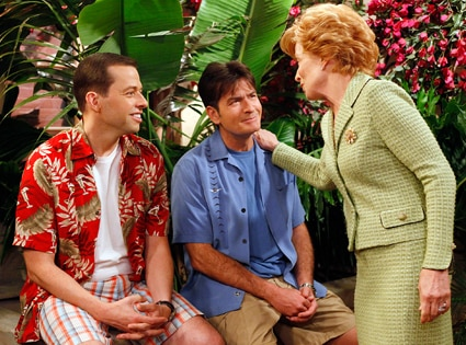 Jon Cryer, Charlie Sheen, Holland Taylor, Two and a Half Men