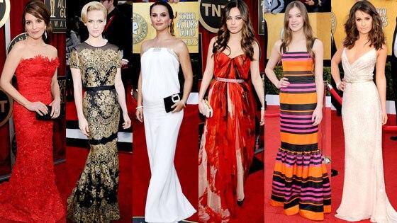 Tina Fey, January Jones, Natalie Portman, Mila Kunis, Hailee Steinfeld, Lea Michele