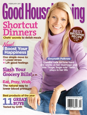 Gwyneth Paltrow, Good Housekeeping Cover