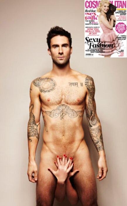 Adam Levine, Cosmopolitan UK
