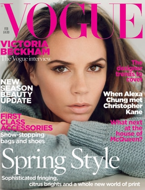 Victoria Beckham, Vogue UK Cover