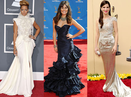 Rihanna, Lea Michele, Sandra Bullock