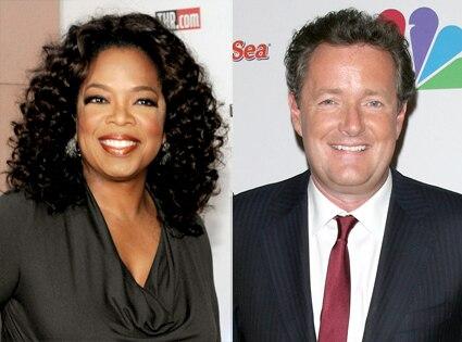 Oprah Winfrey, Piers Morgan