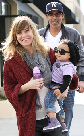 Ellen Pompeo, Stell Luna Ivery, Chris Ivery