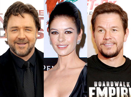 Russell Crowe, Catherine Zeta-Jones, Mark Wahlberg
