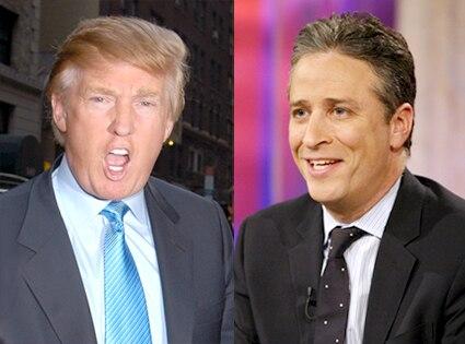 Donald Trump, Jon Stewart