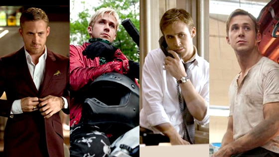 Ryan Gosling, Crazy Stupid Love, The Place Beyond the Pines, The Ides of March, Drive