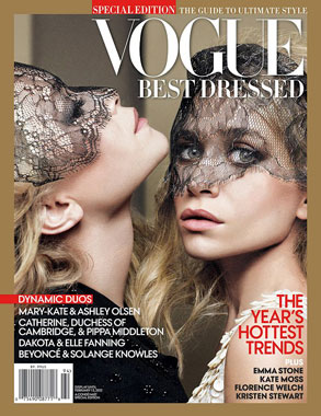 Vogue cover, Mary-Kate, Ashley Olsen
