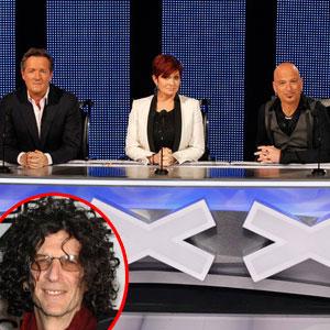 Americas Got Talent, Piers Morgan, Sharon Osbourne, Howie Mandel, Howard Stern