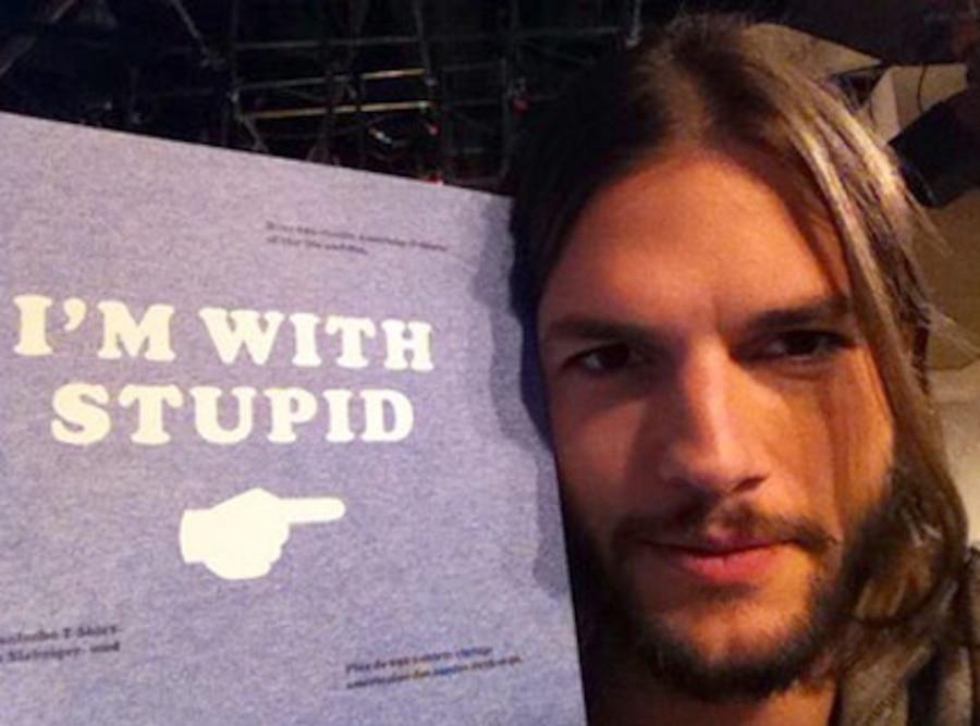 Ashton Kutcher, Twitter