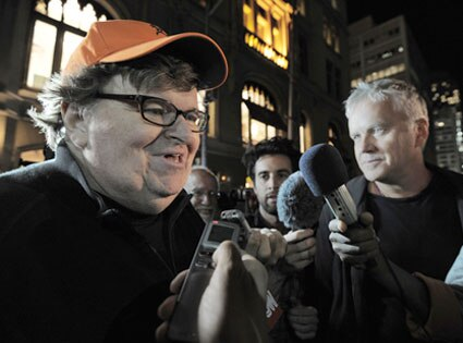 Michael Moore, Tim Robbins