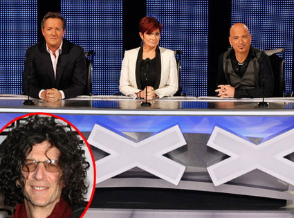 Americas Got Talent, Piers Morgan, Sharon Osbourne, Howie Mandel, Howard Stern