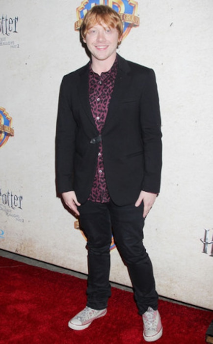 Rupert Grint, Harry Potter and the Deathly Hallows: Part 2 Celebration