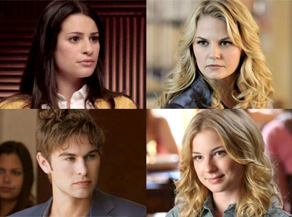 Chace Crawford, Gossip Girl, Lea Michele, Glee, Jennifer Morrison, Once Upon a Time, Emily VanCamp, Gle