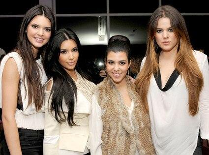 Kylie Jenner, Kim Kardashian, Khloe Kardashian Odom, Kourtney Kardashian