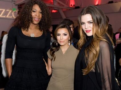 Seren Williams, Eva Longoria, Khloe Kardashian Odom