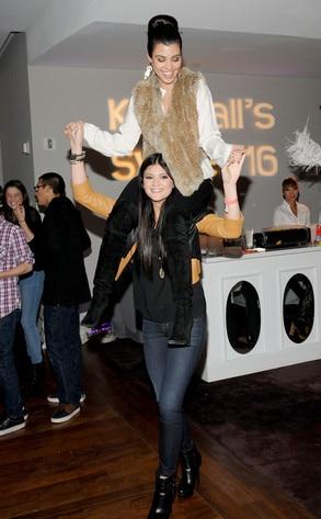 Kourtney Kardashian, Kylie Jenner