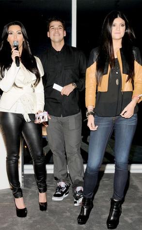 Kim Kardashian, Rob Kardashian, Kylie Jenner