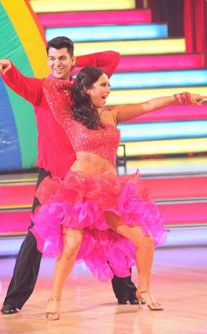 DANCING WITH THE STARS, ROB KARDASHIAN, CHERYL BURKE