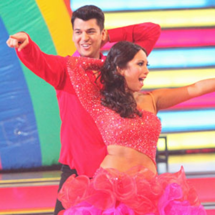 DANCING WITH THE STARS, ROB KARDASHIAN, CHERYL BURKE