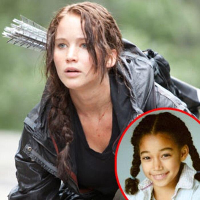 Hunger Games, Jennifer Lawrence, Amandla Stenberg