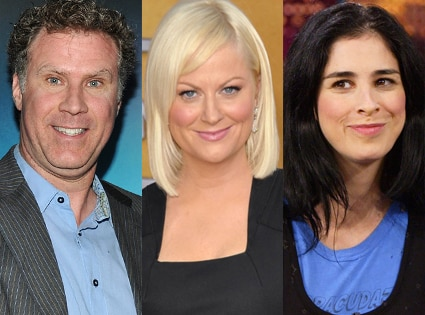 Amy Poehler, Will Ferrell, Sarah Silverman