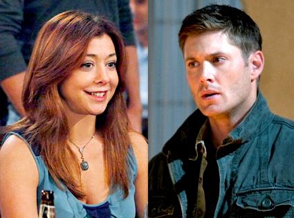 Jensen Ackles, Supernatural, Alyson Hannigan, How I Met Your Mother