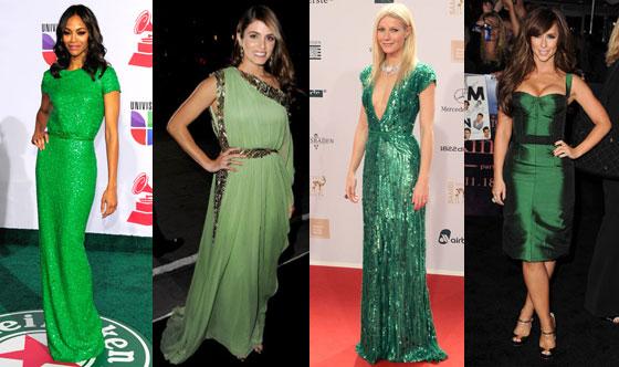 Gwyneth Paltrow, Nikki Reed, Jennifer Love Hewitt, Zoe Saldana