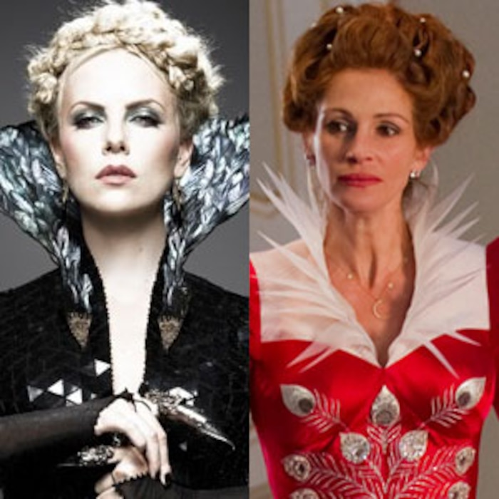 Charlize Theron, Julia Roberts, Snow White