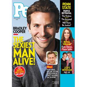 Bradley Cooper, People Cover