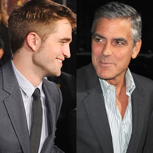 Robert Pattinson, George Clooney