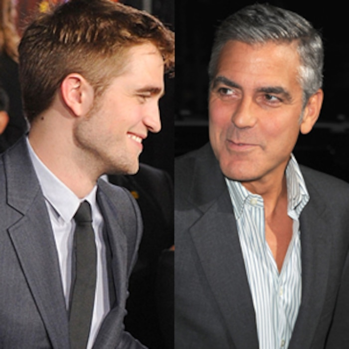 Robert Pattinson, George Clooney