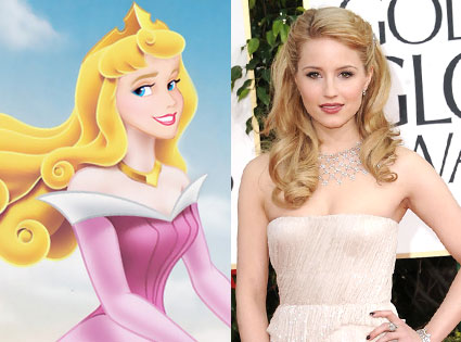 Sleeping Beauty, Aurora, Dianna Agron