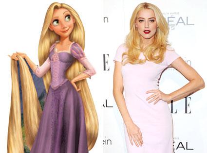 Rapunzel, Amber Heard