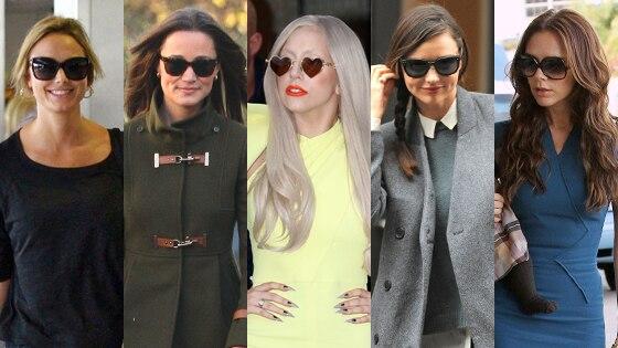 Stacy Keibler, Pippa Middleton, Lady Gaga, Miranda Kerr, Victoria Beckham