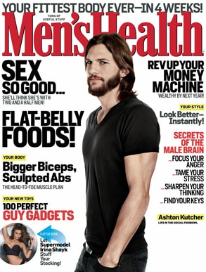 Men's Health Magazine, Ashton Kutcher