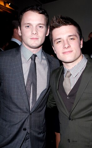 Anton Yelchin, Josh Hutcherson, GQ Party