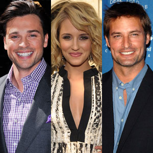 Dianna Agron, Josh Holloway, Tom Welling
