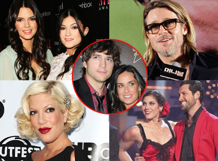 Week In Review, Brad Pitt, Hope Solo, Maks Chmerkovskiy, Kendall,Kylie, Tori Spelling, Ashton, Demi