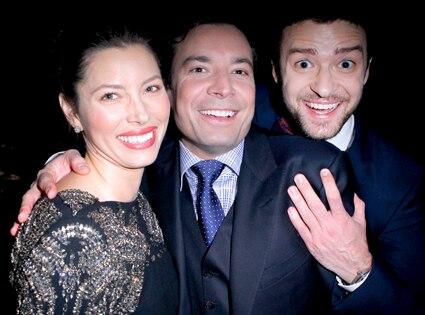 Jessica Biel, Jimmy Fallon, Justin Timberlake