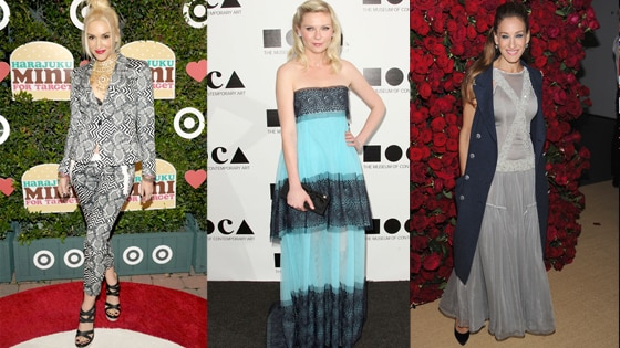 Gwen Stefani, Kirsten Dunst, Sarah Jessica Parker, Worst