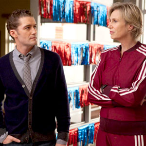 Glee, Jane Lynch, Matthew Morrison