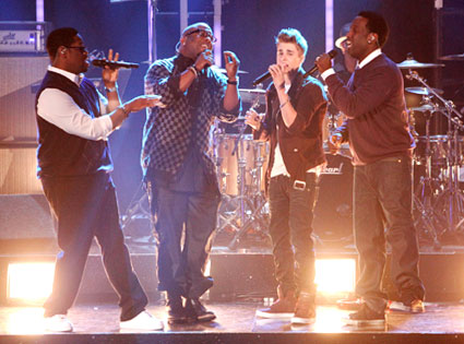 Justin Bieber, Boyz II Men, Dancing with the Stars