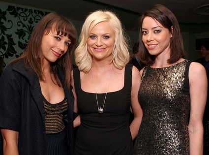 Rashida Jones, Amy Poehler, Aubrey Plaza, Power Of Comedy Event