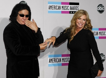 Gene Simmons, Shannon Tweed, American Music Awards