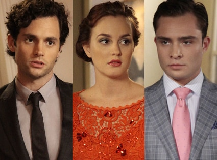 Penn Badgley, Ed Westwick,