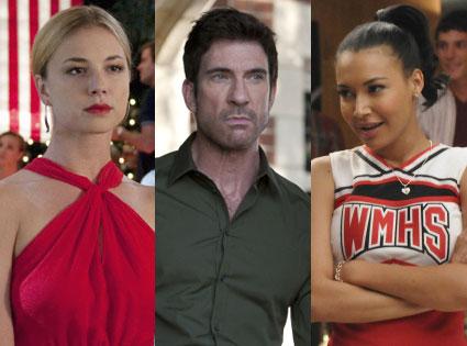 Emily VanCamp, Revenge, Zachary Quinto, American Horror Story, Naya Rivera, Glee