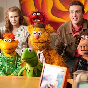 Jason Segel, Amy Adams, Muppets
