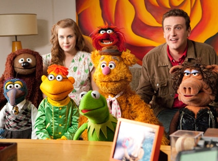 Jason Segel, Amy Adams, Muppets