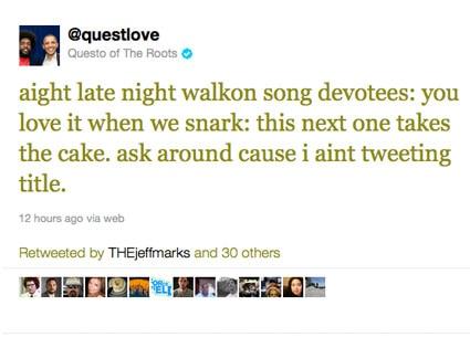 Questlove Twitter